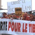 Manifestations diverses pour le Tibet