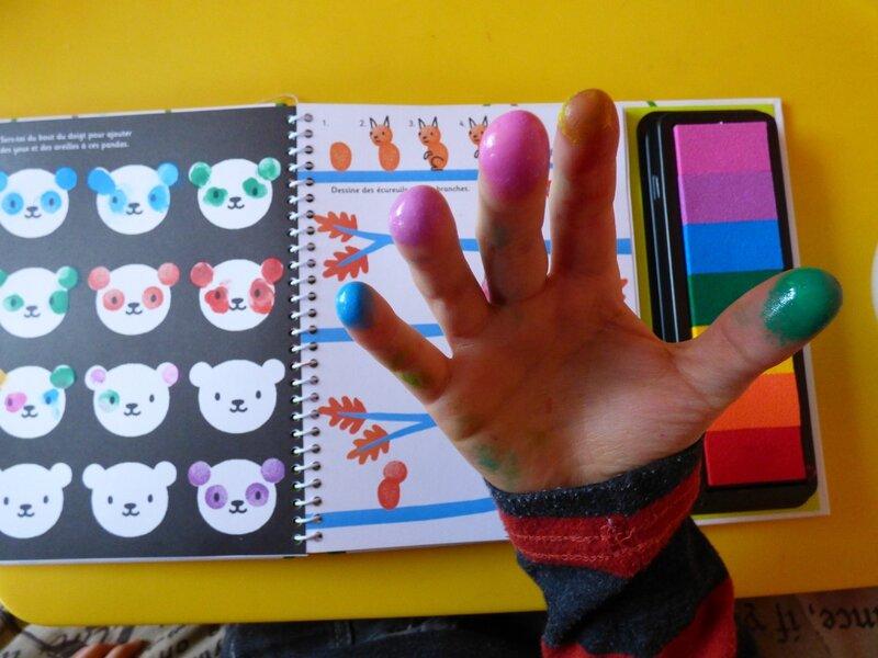 Dessine avec les doigts 3