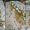TABLES EN FÊTE - Printemps, été, automne, hiver
