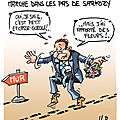 Hollande dans les pas de Sarkozy