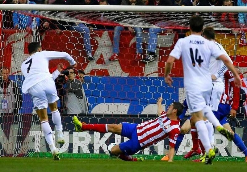 Cristiano Ronaldo rescues point for Real Madrid against Atletico Atlético Madrid Real Madrid 2 - 2