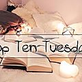 Top ten tuesday # 69