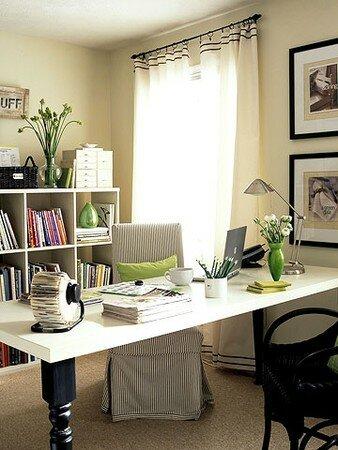Comment Organiser Avec Style Un Bureau Plein De Paperasse Reponse On Cache La Paperasse Le