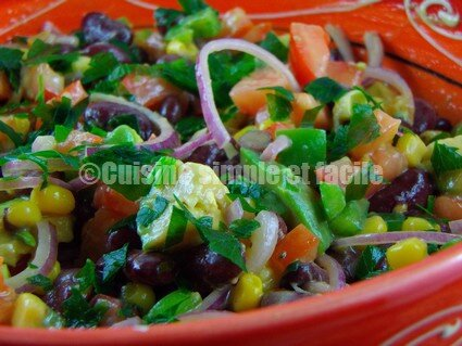 Salade haricots rouges 06