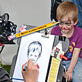 Caricaturiste langres 52 haute-marne - animation enfants adultes