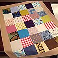 Le plaid patchwork pour edgar