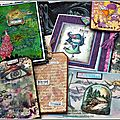 Retour de version scrap rennes sur le stand carabelle... et premières réas / back from vs rennes and my carabelle projects