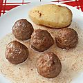 Ragoût de boulettes à la cannelle