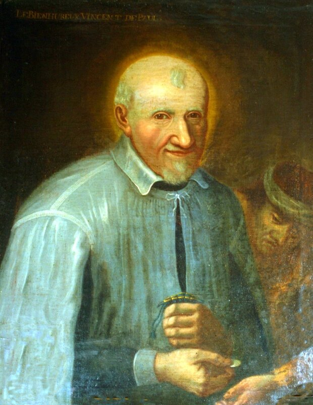 France, Vincent de Paul giving alms