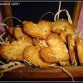 Crackers comté paprika pavot