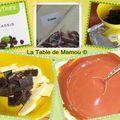 Mousse chocolat et kiwis aux fruits rouges