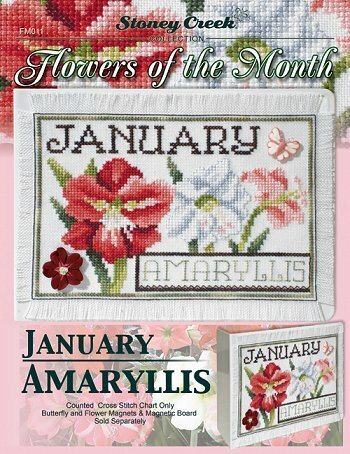 flowers of the month - january