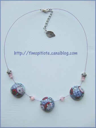 Bijoux pate fimo collier bracelet boucles d oreilles (23)