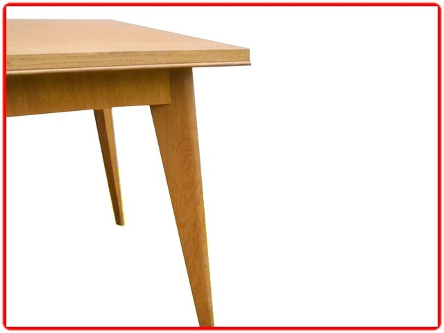 table étroite vintage scandinave sam