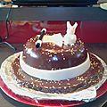 Gâteau chapeau de magicien