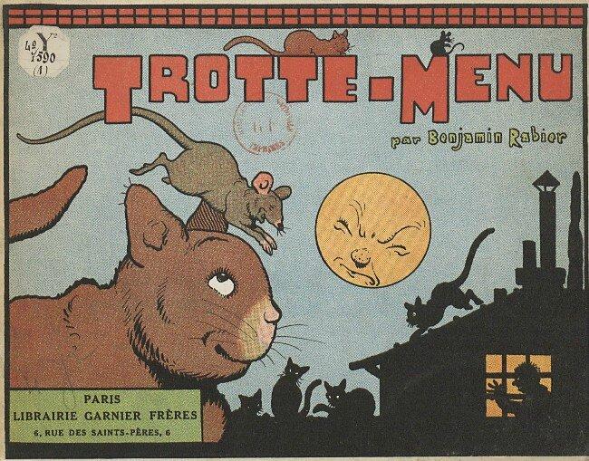 Benjamin Rabier Trotte menu
