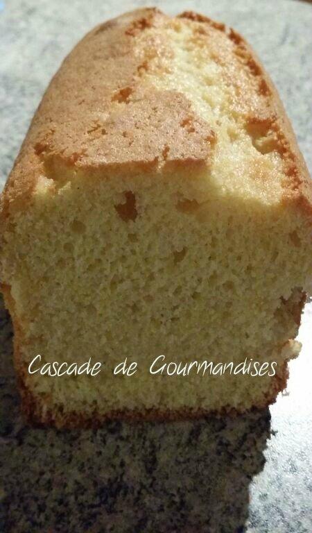 cake citron tranche
