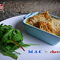 Gratin de maccaronis au fromage (mac and cheese in american)