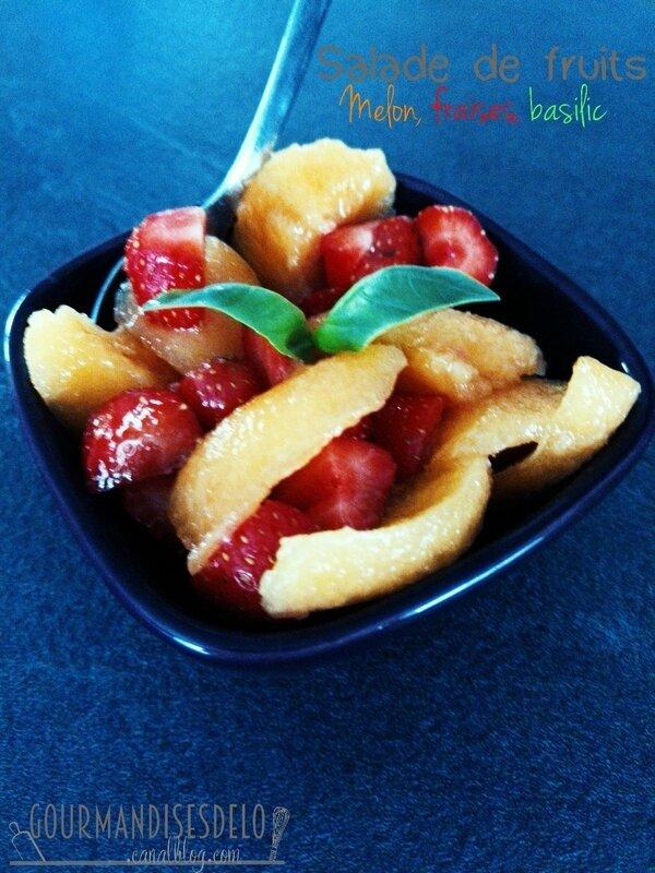Salade de fruit melon fraise menthe (1)