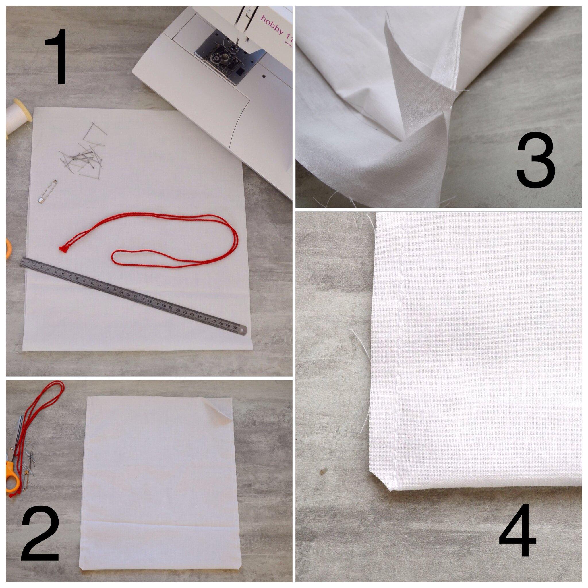 sac r utilisables pour fruits et l gumes tuto la chouette bricole. Black Bedroom Furniture Sets. Home Design Ideas