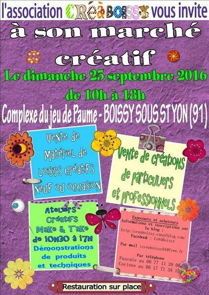 affiche marché créatif septembre 2016-v2