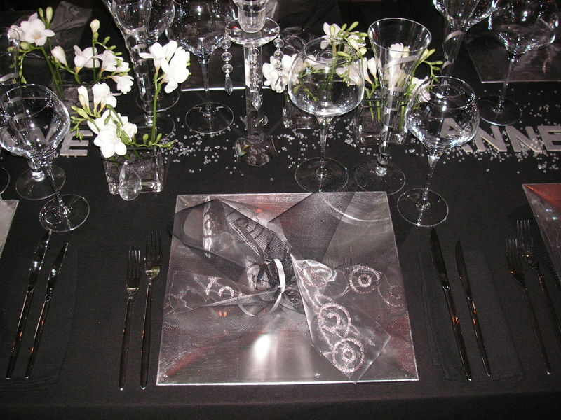 Table Reveillon Saint Sylvestre