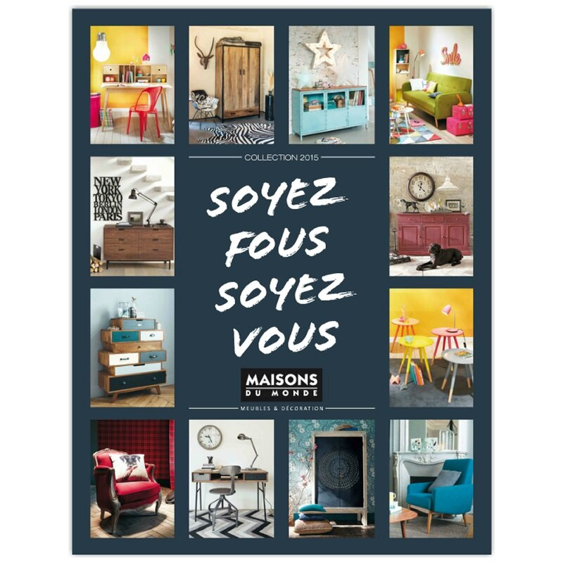 nouveau le catalogue maisons du monde deco trendy a t e l i e r. Black Bedroom Furniture Sets. Home Design Ideas