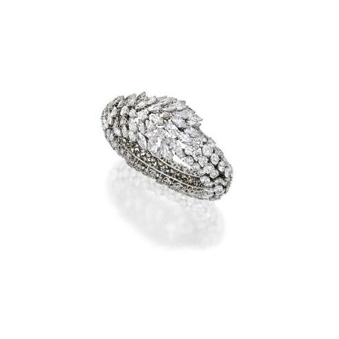 Platinum and Diamond Bracelet, Harry Winston