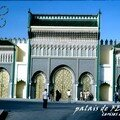 les portes du palais royal de FES