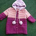 Manteau bébé taille 2 ans