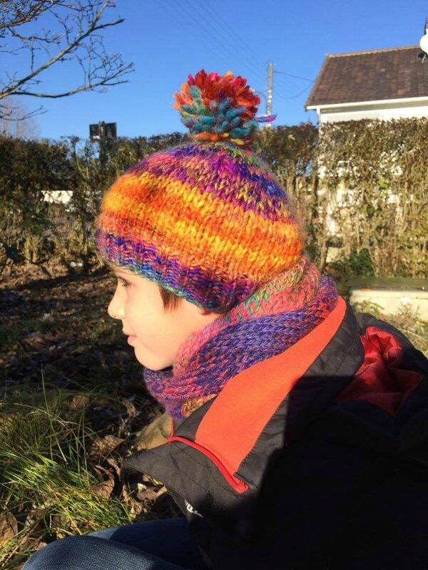 profil Noa bonnetet écharpe