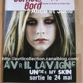 Carnet de bord pour commandes de CD-Under My Skin