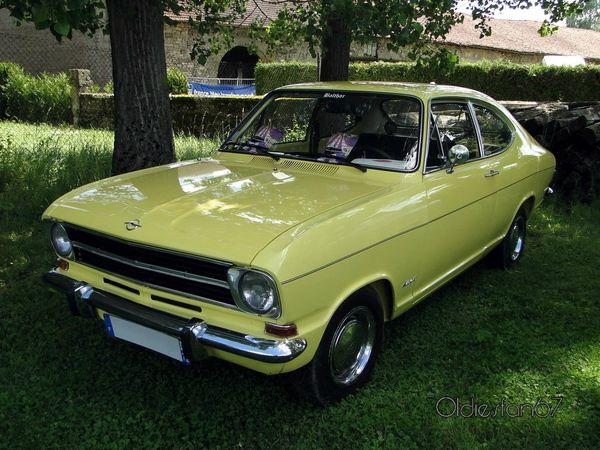 opel kadett b coupe 1972 a