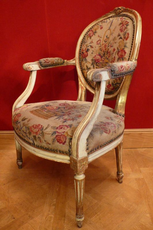 histoire du fauteuil louis xvi symbole du n oclassicisme. Black Bedroom Furniture Sets. Home Design Ideas