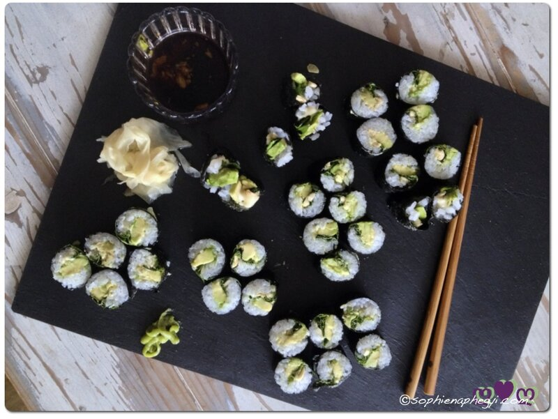 a brunch makis green