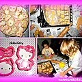 Les sablés hello kitty