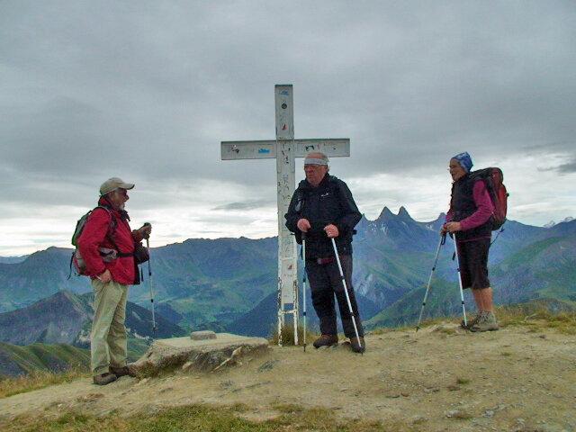 Cime de l'Ouillon 2431 m. du col de la Croix de Fer