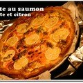 Tarte au saumon d'Olivier