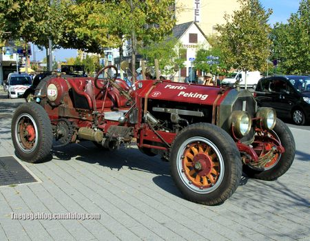 American La France red baron speedster de 1916 (Rallye de france 2011) 01