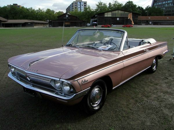 oldsmobile f85 cutlass convertible 1962 3