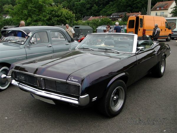 mercury cougar convertible 1969 a