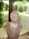 Kendo,sculpture,modelage,grès,statuette,statut,silhouette,arts martiaux,terre,argile,céramique,raku (5)