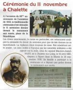 Extrait du Bulletin Municipal n°66 de Châlette-sur-Loing