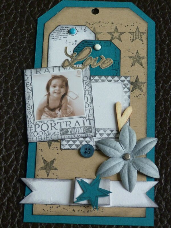 Scraplift du tag de Sylvie85