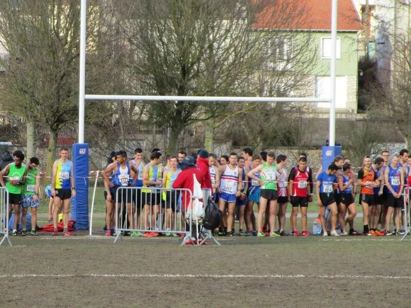 Demi finale chts france cross 5 fevrier 2017 Coulommiers 012