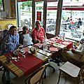 Quelques photos en souvenir de la rencontre francine (90 ans et 1/2 le 19 juin) et mimi (bientôt 69 ans).