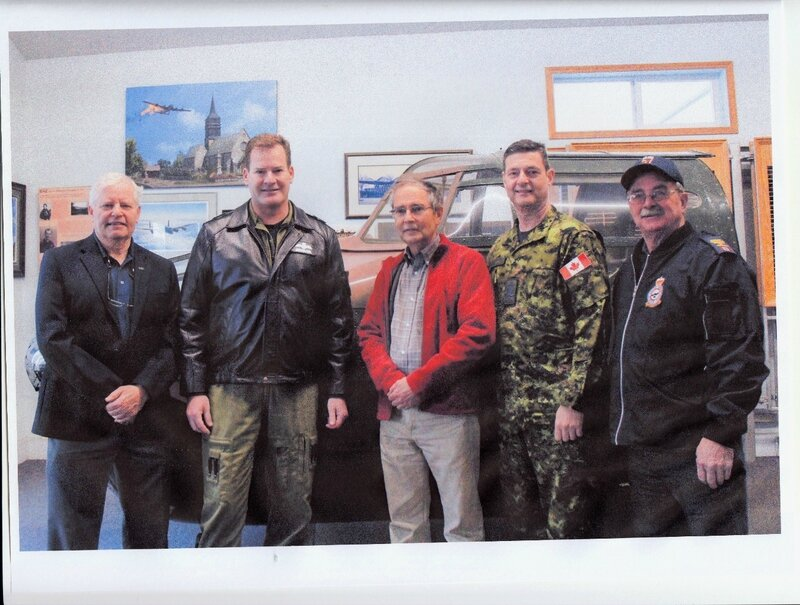 57 rescue LGen Mike Hood - Halifax HR871 Sweden Project