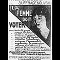 Le droit de votre des femmes françaises fête ses 70 ans !