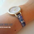 Diy bracelet de montre en liberty
