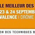23 et 24 septembre 2015 - parcours traction animale au salon tech et bio - bourg-les-valence (26)